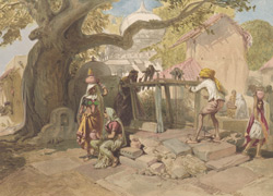 The village well